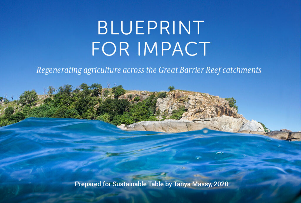 Blueprint for Impact - Regenerating agriculture across the Great Barrier Reef catchments
