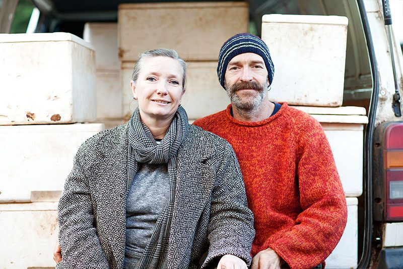 Tim + Deri-Anne Wyatt of Angelica Organic Farm