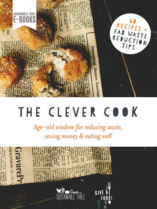 The clever cook sustainable table the clever cook book cover forumfinder Gallery